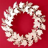 closeout christmas wreath