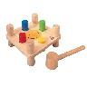discount hammer pegs toy