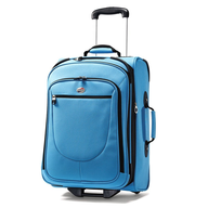 blue carry on luggage