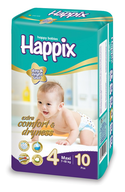 happix maxi diapers