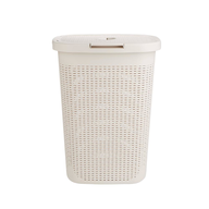 ivory laundry basket