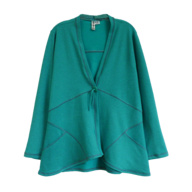 plus size teal blouse