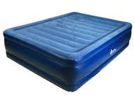 queen blue air bed