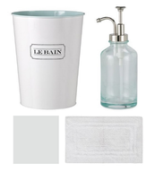 white french bathroom accessories