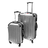 discount silver luggage