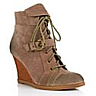 wholesale womens wedge laced boots